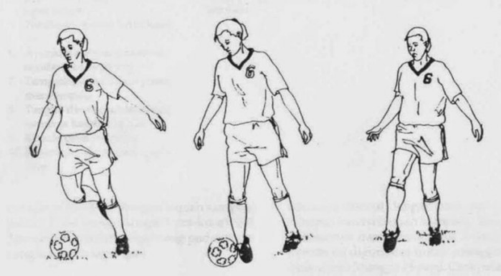 Tehnik menggiring bola